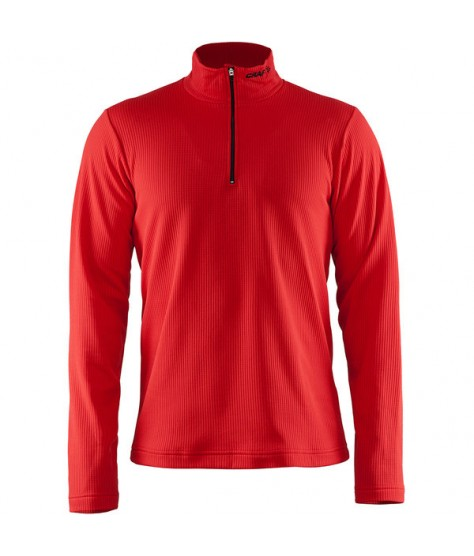 CRAFT SHIFT PULLOVER M ROUGE